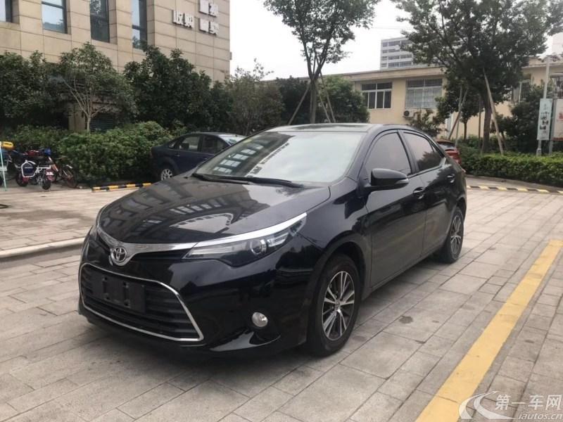 丰田雷凌 2016款 1.6L 自动 E新锐版 (国Ⅴ)