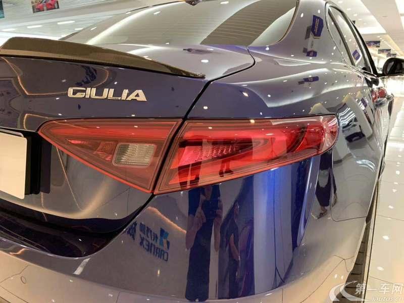 阿尔法罗密欧Giulia [进口] 2017款 2.9T 自动 四叶草版