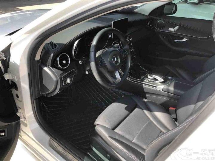 奔驰C级 C180L 2016款 1.6T 自动 运动版 (国Ⅴ)