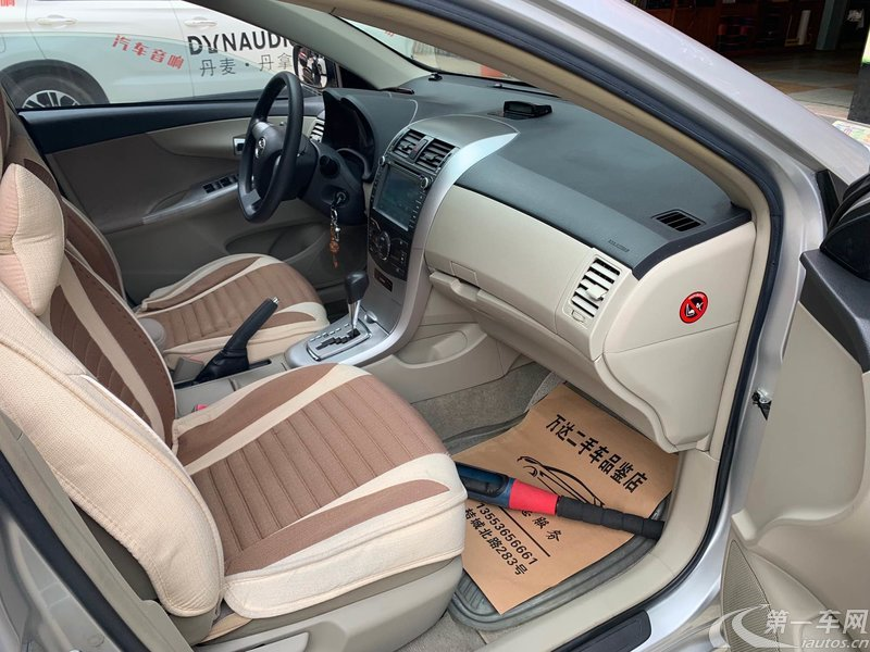 丰田卡罗拉 2011款 1.6L 自动 GL天窗版 (国Ⅳ)