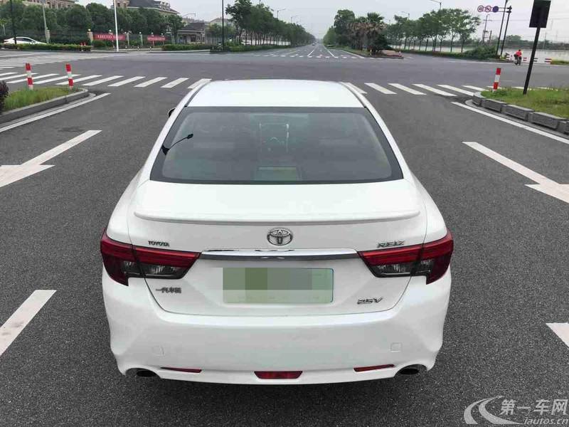 丰田锐志 2013款 2.5L 自动 V尚锐导航版 (国Ⅴ)