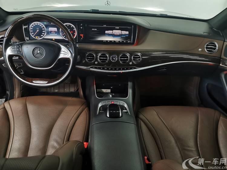 奔驰S320 [进口] 2014款 3.0T 自动 汽油 商务型加长版 (欧Ⅴ)