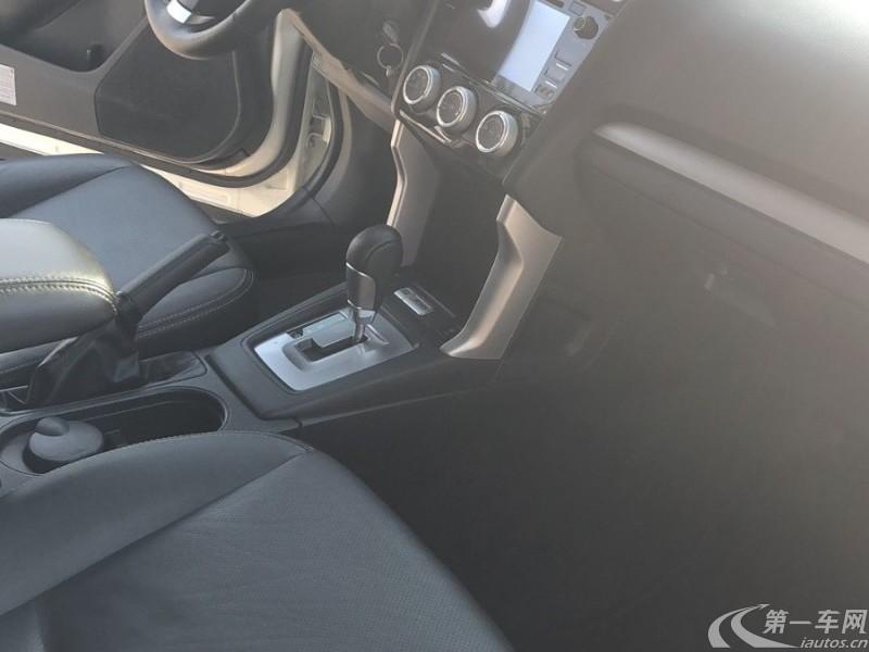 斯巴鲁森林人 [进口] 2016款 2.5L 自动 四驱 豪华导航版