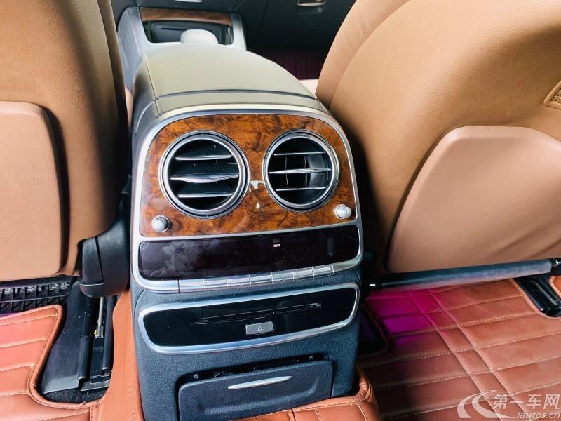 奔驰S级 S400 [进口] 2014款 3.0T 自动 汽油 豪华型加长版