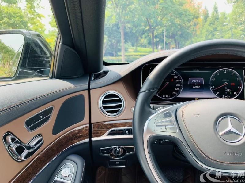 奔驰S320 [进口] 2016款 3.0T 自动 汽油 商务型加长版 (欧Ⅴ)