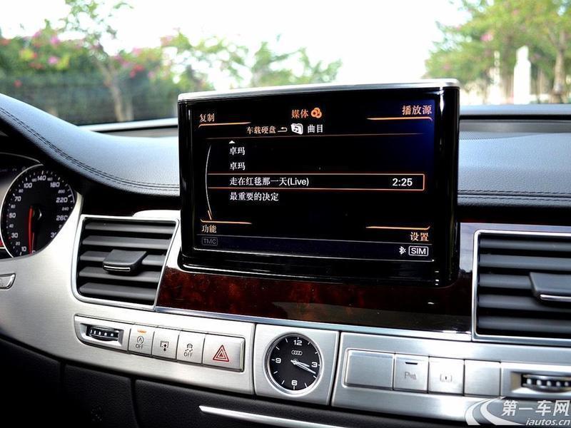 奥迪A8L 50 [进口] 2013款 3.0T 自动 汽油 豪华型