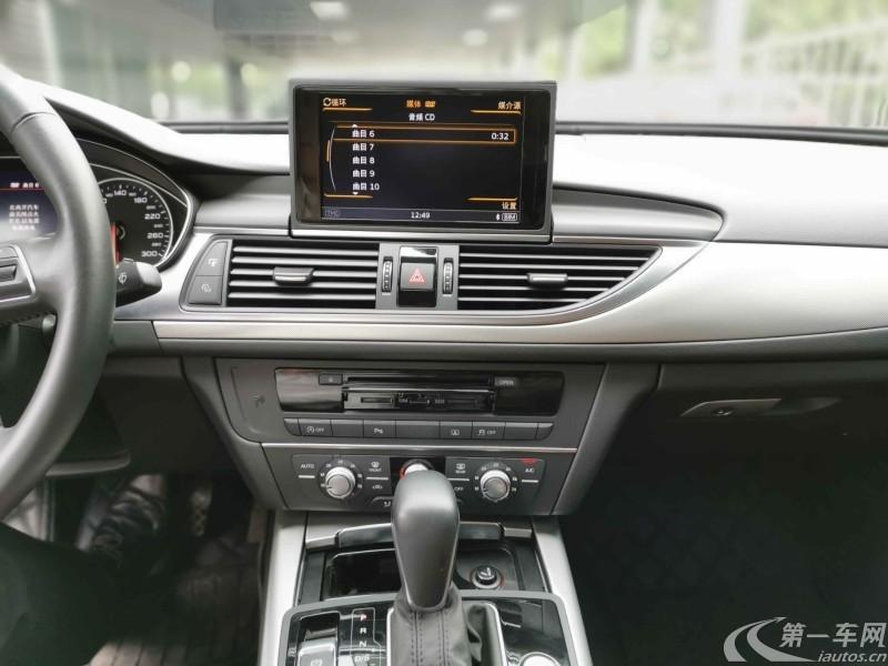 奥迪A6L TFSI 2018款 1.8T 自动 进取型30周年纪念版 (国Ⅴ)