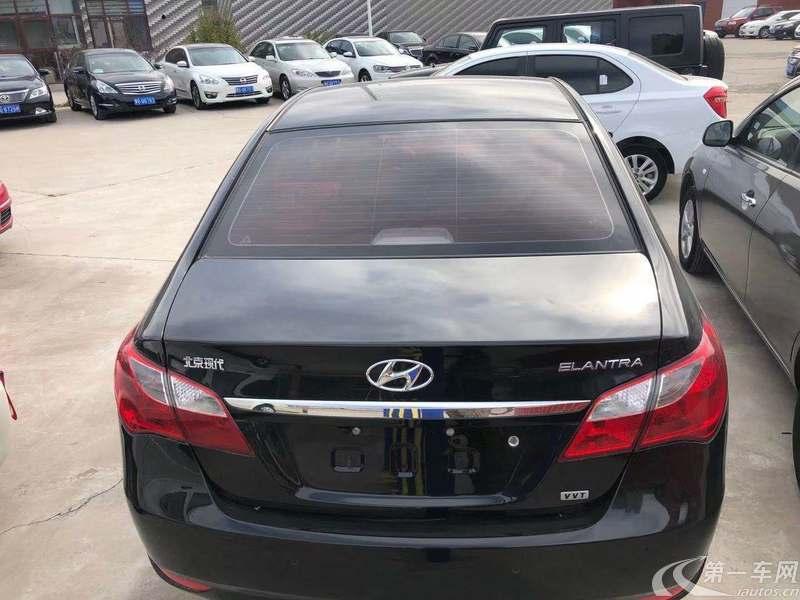 现代悦动 2011款 1.6L 自动 豪华型 (国Ⅳ)