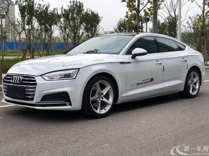 奥迪A5掀背 45 [进口] 2019款 2.0T 自动 汽油 TFSI时尚型