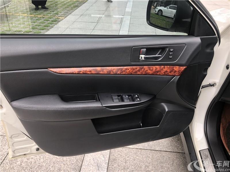 斯巴鲁傲虎 [进口] 2011款 2.5L 自动 四驱 豪华导航版