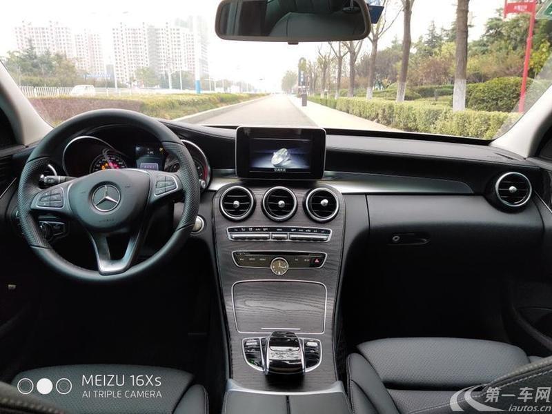 奔驰C级 C200 2018款 2.0T 自动 运动版 (国Ⅴ)