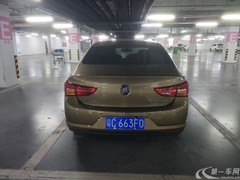 别克威朗 2017款 1.5L 自动 15S进取型 (国Ⅴ)
