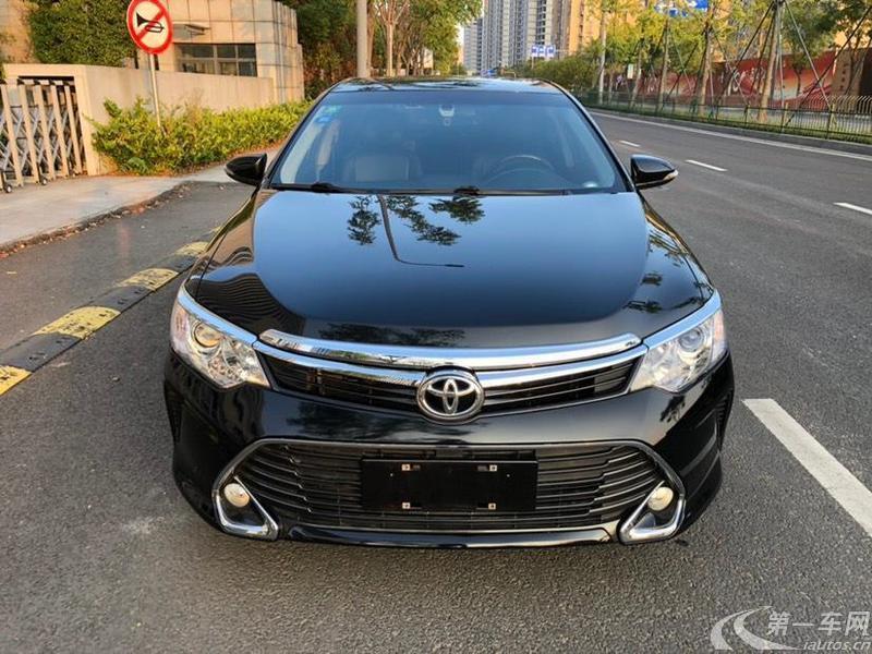 丰田凯美瑞 2016款 2.5L 自动 十周年豪华导航版 (国Ⅴ)