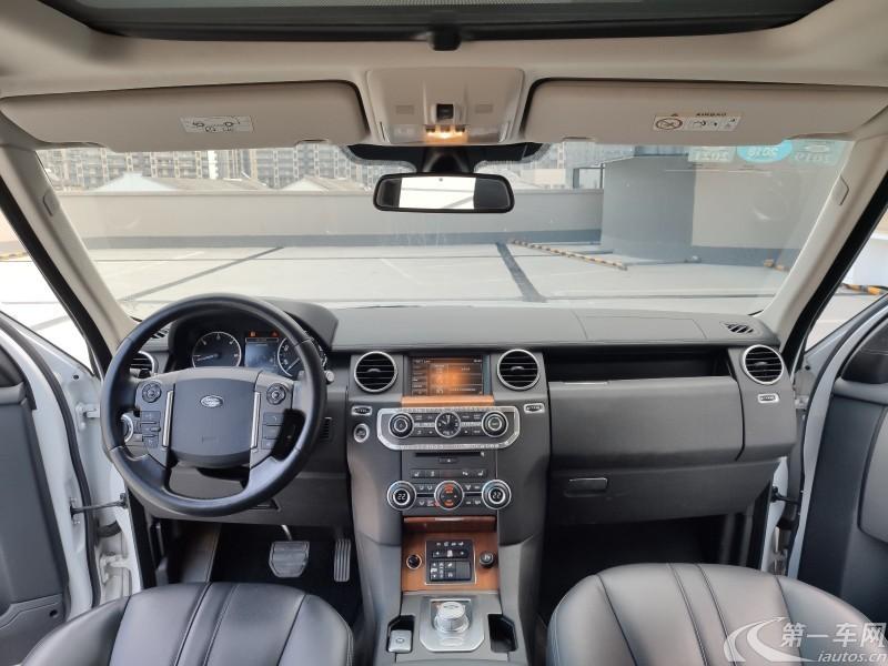路虎发现 [进口] 2015款 3.0T 自动 四驱 柴油 HSE