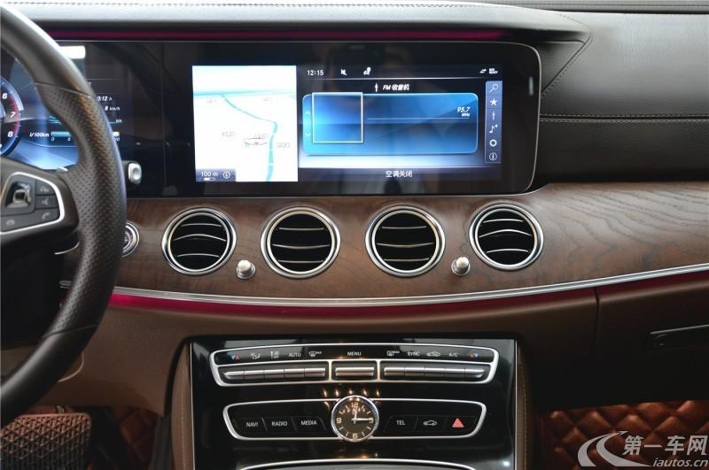 奔驰E级 E300L 2018款 2.0T 自动 汽油 豪华型改款 (国Ⅴ)