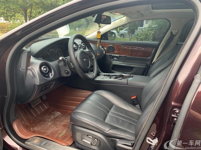 捷豹XJ L [进口] 2015款 3.0T 自动 汽油 SC剑桥限量版