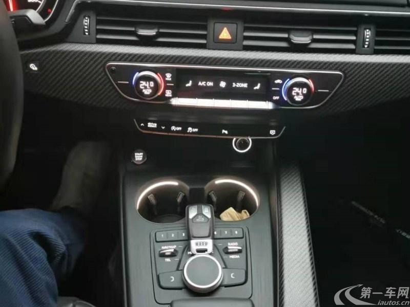 奥迪A4L 2019款 2.0T 自动 运动型 (国Ⅴ)