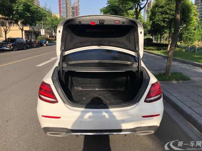 奔驰E级 E300L 2017款 2.0T 自动 汽油 运动豪华型 (国Ⅴ)