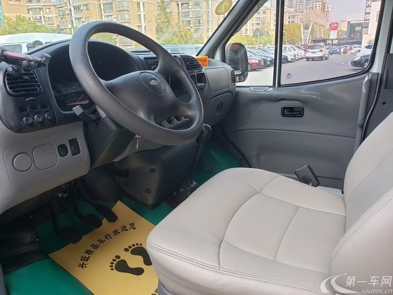 福特全顺 2013款 2.8T 手动 加长轴中顶后双胎版 (国Ⅳ)