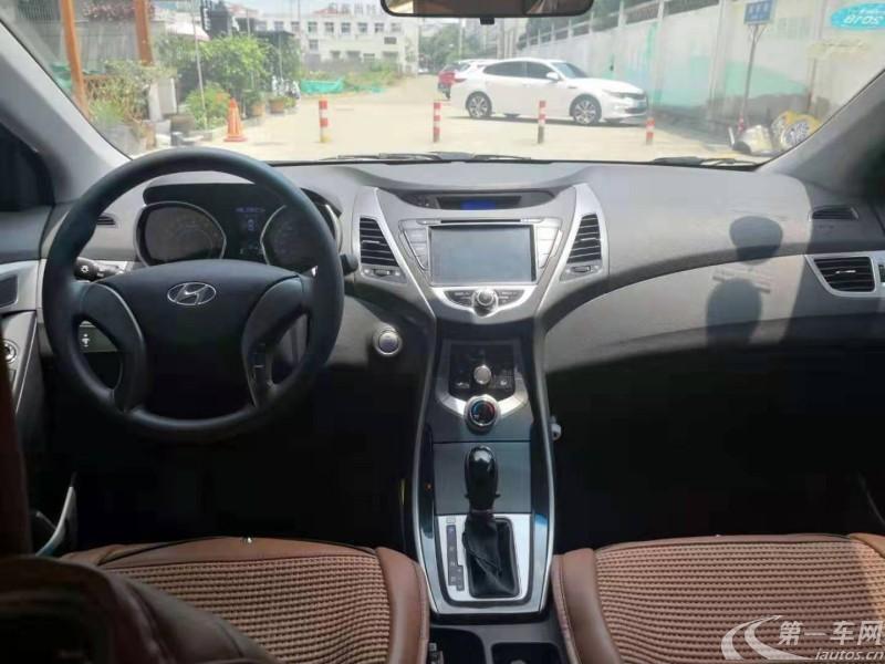 现代朗动 2012款 1.6L 自动 GS时尚型 (国Ⅳ)