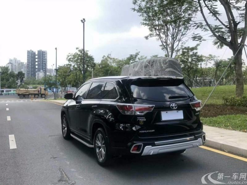 丰田汉兰达 2015款 2.0T 自动 四驱 豪华导航版 (国Ⅴ)