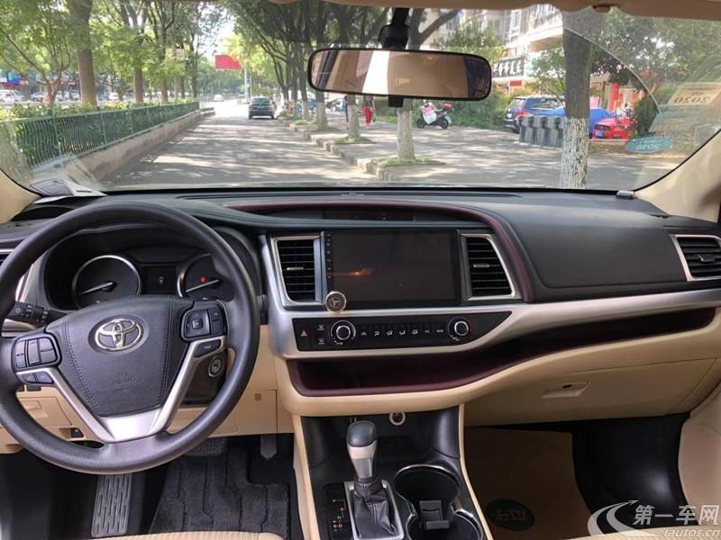 丰田汉兰达 2015款 2.0T 自动 前驱 豪华导航版 (国Ⅴ)