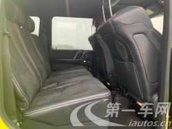 奔驰G级 G500 [进口] 2018款 4.0T 自动 汽油 中东版平行进口 (欧Ⅴ)