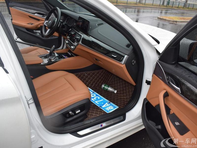 宝马5系 530Li 2018款 2.0T 自动 汽油 领先型M运动套装改款 (国Ⅴ)