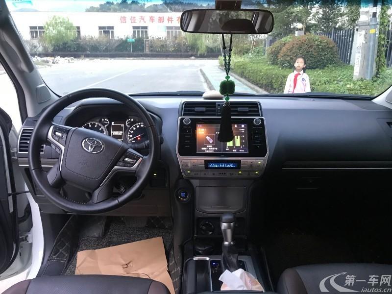 丰田普拉多 2018款 3.5L 自动 四驱 TX (国Ⅴ)