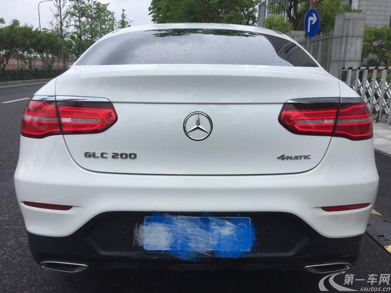 奔驰GLC GLC200 2017款 2.0T 自动 (国Ⅴ)