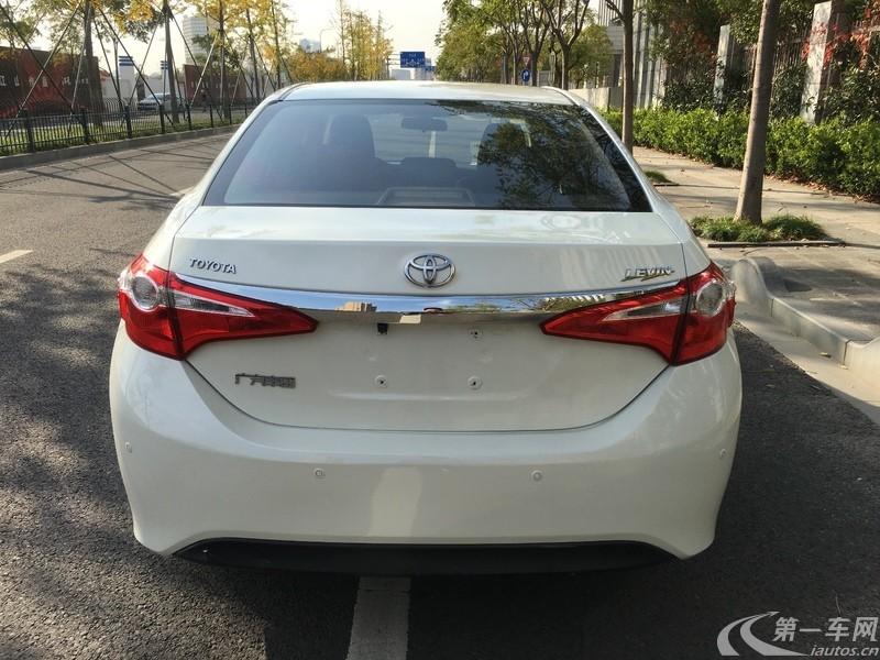 丰田卡罗拉 2014款 1.6L 自动 GL-i (国Ⅴ)
