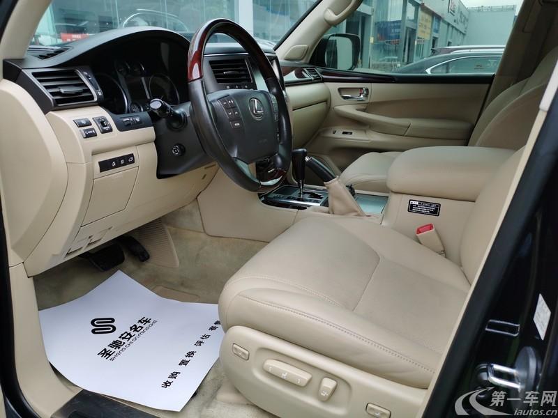 雷克萨斯LX 570 [进口] 2009款 5.7L 自动 四驱