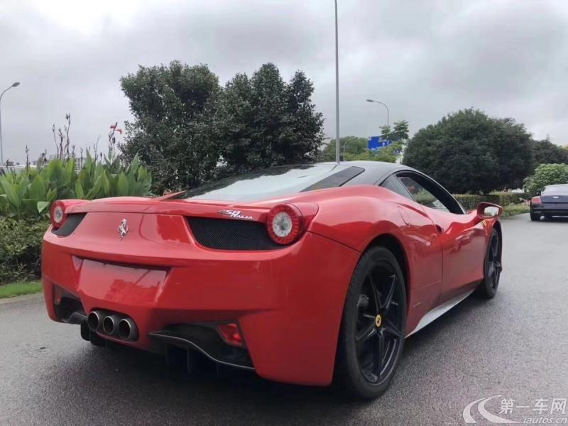 法拉利458 [进口] 2014款 4.5L 自动 Speciale (欧Ⅳ)