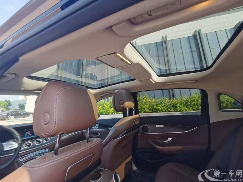 奔驰E级 E200L 2018款 2.0T 自动 汽油 运动型 (国Ⅴ)