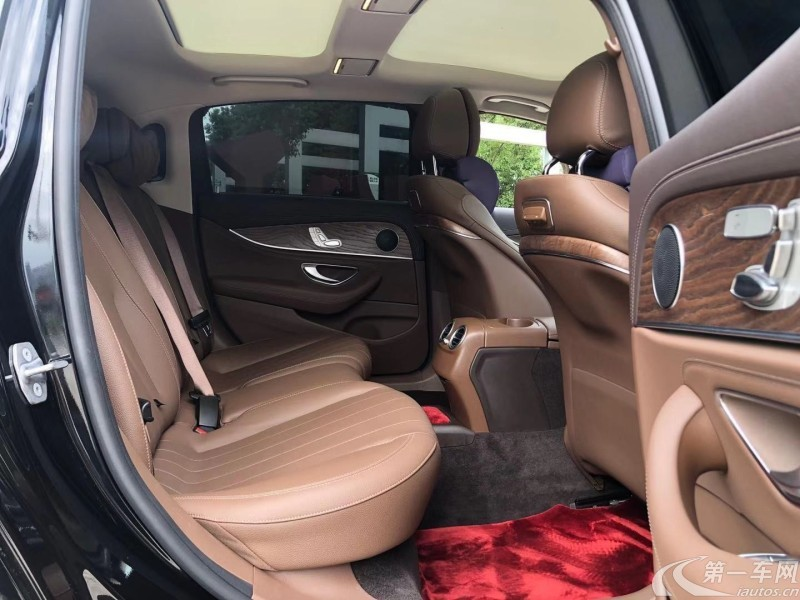 奔驰E级 E300L 2018款 2.0T 自动 汽油 运动豪华型改款 (国Ⅴ)