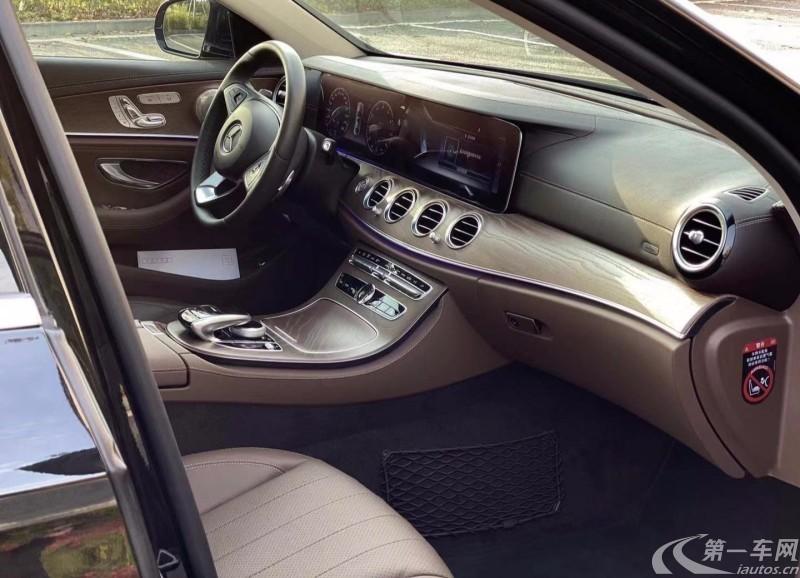 奔驰E级 E300L 2018款 2.0T 自动 汽油 运动时尚型 (国Ⅴ)