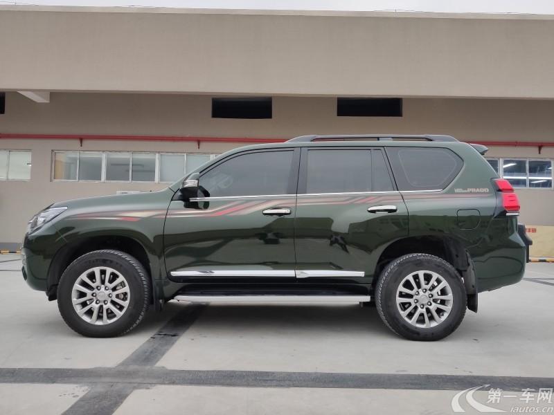 丰田普拉多 2018款 3.5L 自动 四驱 TX-L-NAVI后挂备胎 (国Ⅴ)