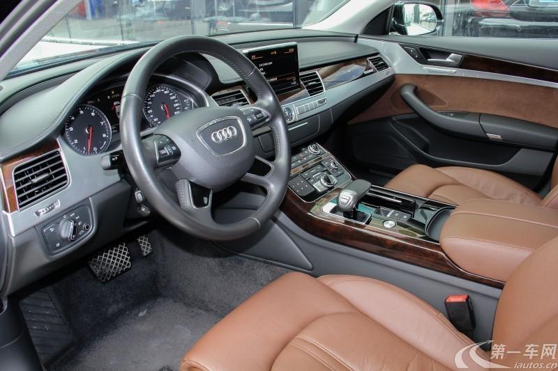 奥迪A8L 45 [进口] 2016款 3.0T 自动 汽油 时尚型