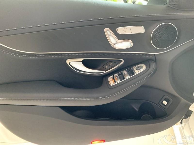 奔驰C级 C260L 2019款 1.5T 自动 运动型4MATIC (国Ⅵ)