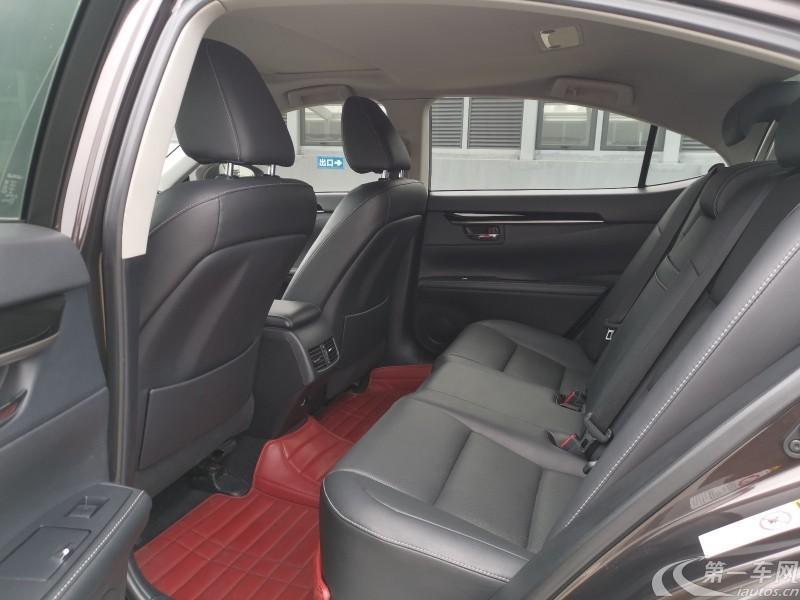 雷克萨斯ES 250 [进口] 2014款 2.5L 自动 舒适版 (欧Ⅳ)