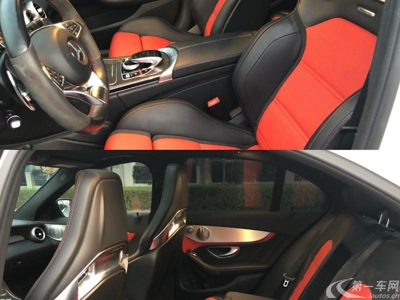 奔驰C63 [进口] 2017款 4.0T 自动 S