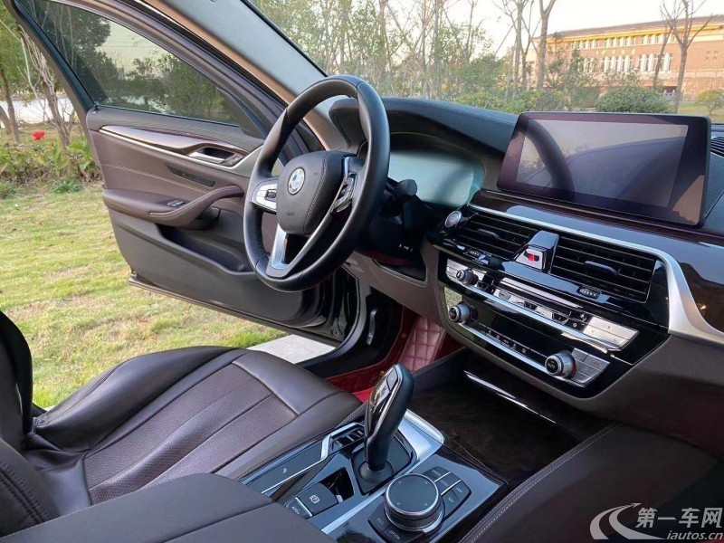 宝马5系 525Li 2018款 2.0T 自动 汽油 豪华套装改款 (国Ⅵ)