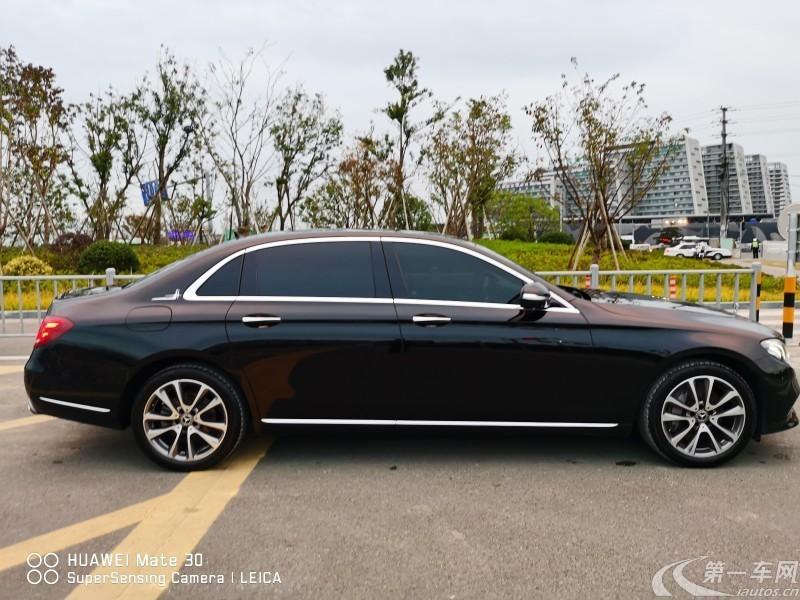 奔驰E级 E300L 2018款 2.0T 自动 汽油 时尚型改款 (国Ⅴ)