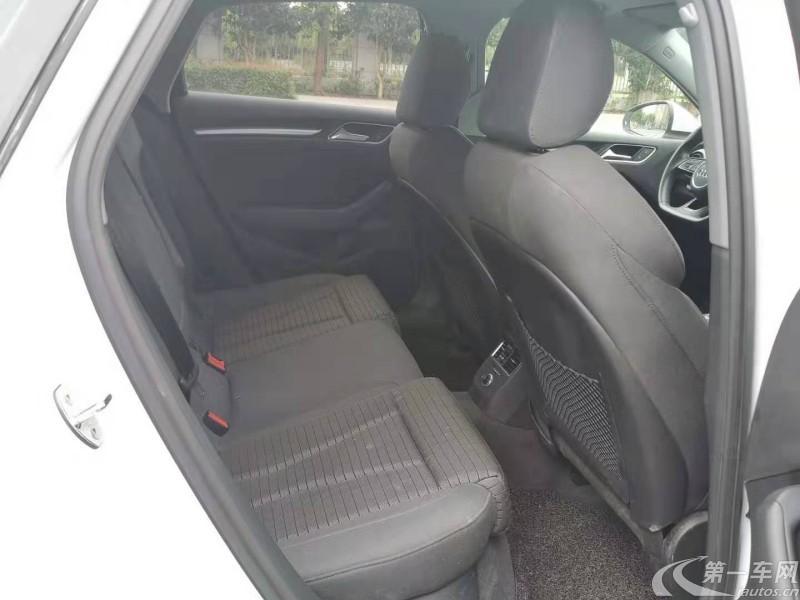 奥迪A3 35TFSI 2018款 1.4T 自动 运动型30周年Limousine (国Ⅴ)