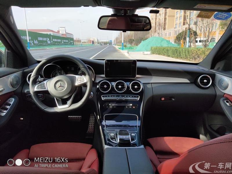 奔驰C200 2018款 2.0T 自动 运动版 (国Ⅴ)
