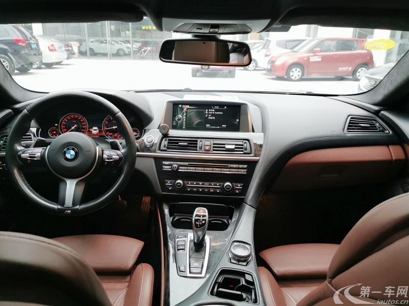 宝马6系轿跑 640i [进口] 2013款 3.0T 自动 4门 M运动版