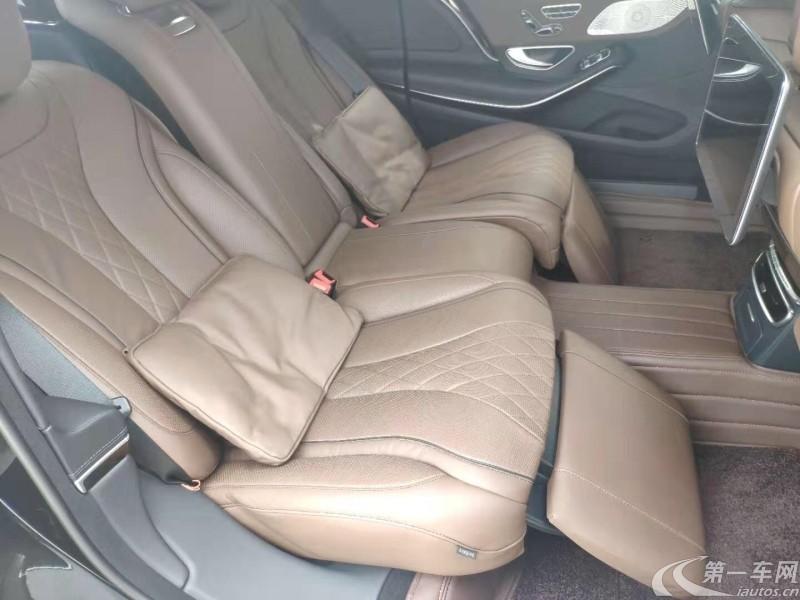 奔驰S450 [进口] 2018款 3.0T 自动 汽油 加长版