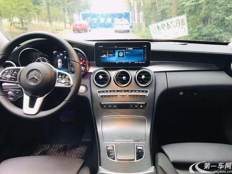 奔驰C级 C180L 2018款 1.6T 自动 动感型运动版 (国Ⅴ)