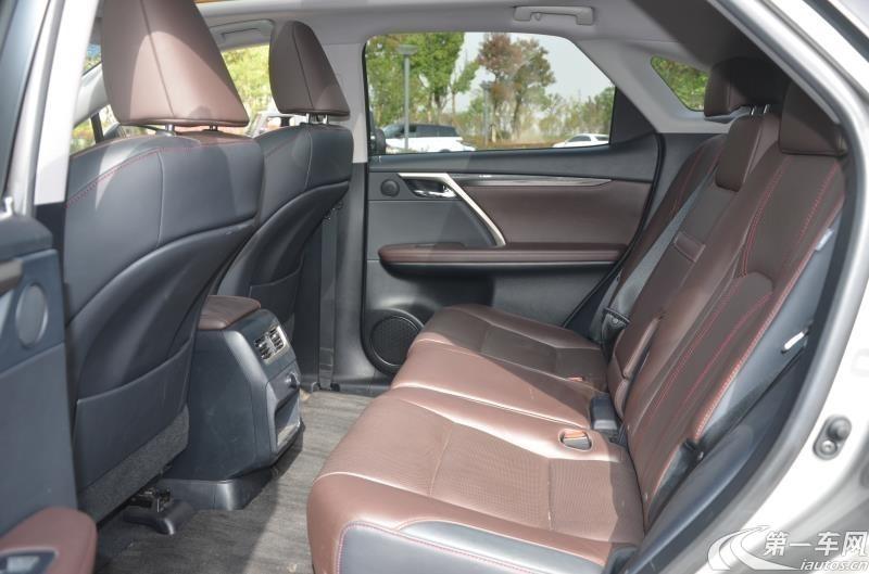 雷克萨斯RX 300 [进口] 2016款 2.0T 自动 前驱 舒适版