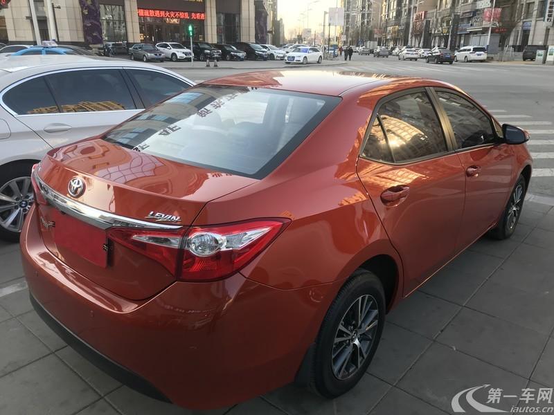 丰田雷凌 2015款 1.6L 自动 G橙色限量版 (国Ⅴ)